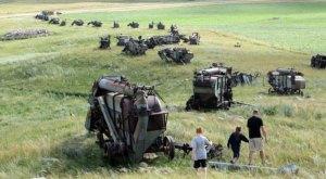 This Threshing Machine Graveyard In North Dakota Is Truly Something To Marvel Over