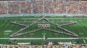 This Mesmerizing Footage Takes You High Above West Virginia University Like Never Before