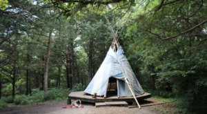 Spend The Night In A Tepee At This Unique Campground In Nebraska