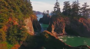 This Mesmerizing Drone Footage Takes You High Above Oregon Like Never Before