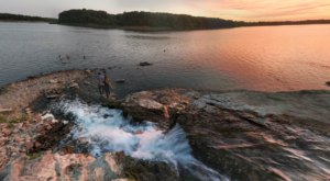 This Secluded Lake In Iowa Might Just Be Your New Favorite Swimming Spot