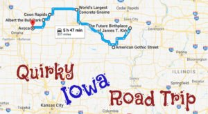Take This Quirky Road Trip To Visit Iowa's Most Unique Roadside Attractions