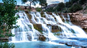 You'll Want To Spend All Day At This Waterfall-Fed Pool In Utah