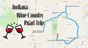 Experience The Best Of Indiana Wine Country With This Awesome One Day Trip