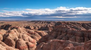 This Mesmerizing Time-Lapse Footage Takes You High Above The South Dakota Badlands Like Never Before