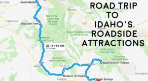 Take This Quirky Road Trip To Visit Idaho's Most Unique Roadside Attractions