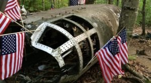 There's A Hike In Maine That Leads You Straight To An Abandoned B-52 Crash