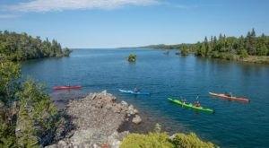 Take This Fascinating Michigan Kayak Tour For A Real Summer Adventure