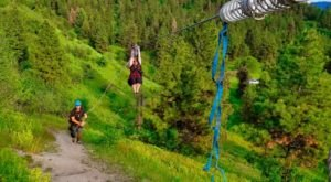 Everyone Should Take This Zip Line Tour Over One Of The Most Breathtaking Places In Idaho
