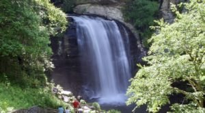 Discover One Of North Carolina's Most Majestic Waterfalls – No Hiking Necessary