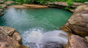 You'll Want To Spend All Day At This Waterfall-Fed Pool In Arkansas