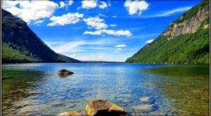 The Clearest Lake In Vermont, Lake Willoughby Is Almost Too Beautiful To Be Real