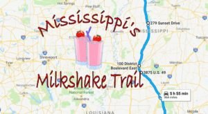 Follow This Mississippi Milkshake Trail For The Ultimate Summer Day Trip