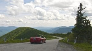 Take A Mountaintop Drive On This Winding Road In Vermont