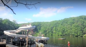 The Natural Waterpark In Maryland That's The Perfect Place To Spend A Summer's Day