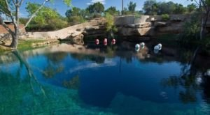 There's A Scuba Park Hiding In New Mexico That's Perfect For Your Next Adventure
