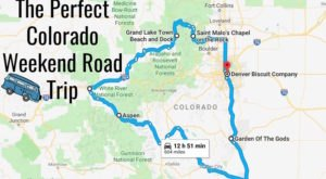 An Awesome Colorado Weekend Road Trip That Takes You Through Perfection