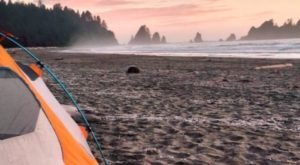 Pitch Your Tent At This Majestic Beach In The Pacific Northwest For An Unforgettable Adventure