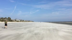 You'll Love This Secluded South Carolina Beach With Miles And Miles Of White Sand