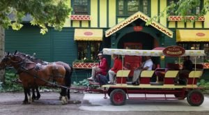 Take A Horse-Drawn Carriage Right To The Doors Of This Magical Michigan Restaurant
