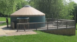 This Pennsylvania Park Has A Yurt Village That's Absolutely To Die For