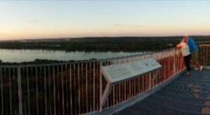 The Underrated Tower Hike In Nebraska You'll Want To Experience At Sunset