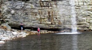 Your Kids Will Love This Easy 1-Mile Waterfall Hike Right Here In New York