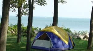 The One Amazing Place In Ohio Where You Can Camp Right On The Lake