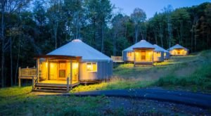 This Maryland Park Has A Yurt Village That's Absolutely To Die For