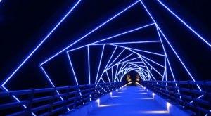 This Full Moon Bike Ride Crosses The Most Stunning Bridge In Iowa