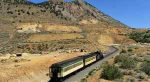 Ride The Rails Through Nevada's Countryside On This Historic Train