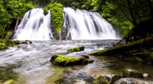 Discover One Of Alaska's Most Majestic Waterfalls – No Hiking Necessary