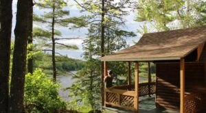 This River Cabin Resort In Maine Is The Ultimate Spot For A Getaway