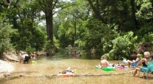 The Little-Known Austin Swimming Hole With The Most Gorgeous, Glimmering Water