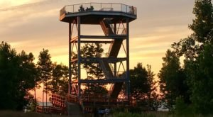 The Underrated Tower Hike In Ohio You'll Want To Experience At Sunset