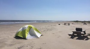 The Lesser-Known State Park In Louisiana That Has Amazing Beachfront Camping