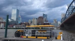 See The Pittsburgh Skyline Like Never Before Aboard This Unique Boat Tour