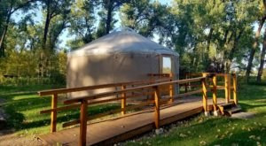 This North Dakota Park Has A Yurt Village That Is Absolutely To Die For