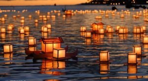The Water Lantern Festival In Northern California That's A Night Of Pure Magic