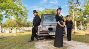 The Creepy Austin Ghost Tour That Takes You Through The City In A Hearse