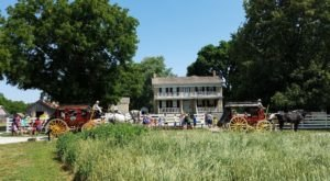 A Trip To This Incredible 19th Century Farm In Kansas Will Whisk You Back In Time