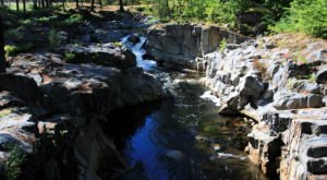 Discover One Of Maine's Most Majestic Waterfalls – No Hiking Necessary