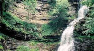Discover One Of West Virginia's Most Majestic Waterfalls – No Hiking Necessary