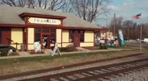 The Ice Cream Shop In This Indiana Train Station Museum Will Satisfy Your Sweet Tooth