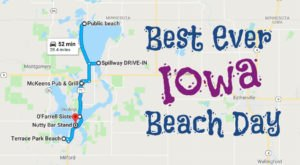 This Road Trip Will Give You The Best Iowa Beach Day You've Ever Had