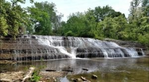 Discover One Of Indiana's Most Majestic Waterfalls – No Hiking Necessary