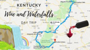 This Day Trip Will Take You To The Best Wine And Waterfalls In Kentucky