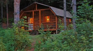 Maine's Rustic Cabin Getaway Is Perfect For A Weekend Full Of Adventure