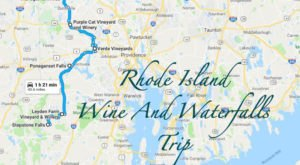 This Daytrip Will Take You To The Best Wine And Waterfalls In Rhode Island