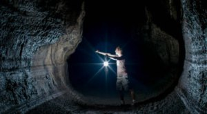 Hiking Through This Cave In Oregon Will Give You A Surreal Experience